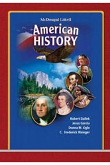 McDougal Littell American History – Student Textbook (2008)