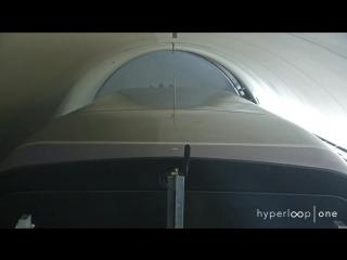 Испытатели Virgin Hyperloop One разогнали капсулу до 387 км/ч