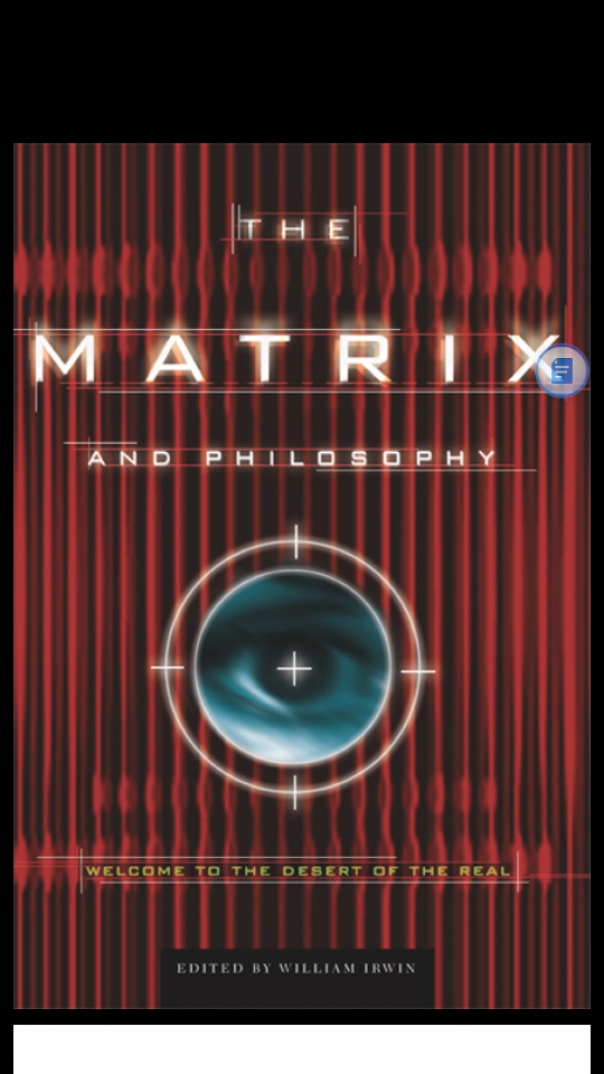 The Matrix and Philosophy Welcome