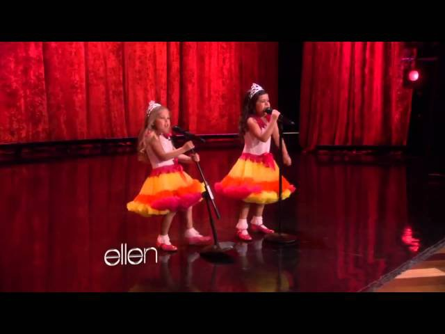 Sophia Grace and Rosie Perform Moment 4 Life
