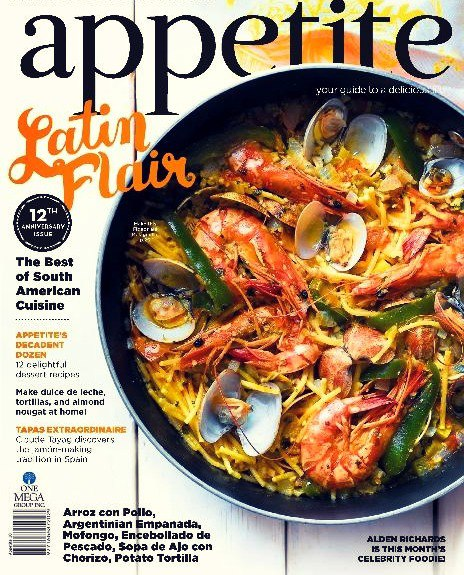 Appetite Philippines October 2016