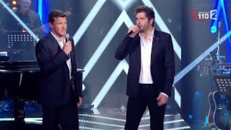 Benjamin Castaldi et Patrick Fiori chantent Je te survivrai