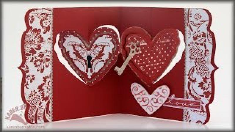 *NEW* Karen Burniston Pivot Card Dies for Elizabeth Craft Designs