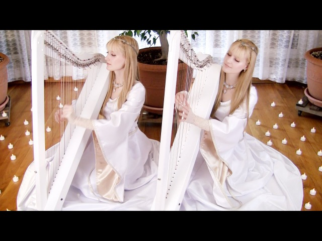 NIGHTS IN WHITE SATIN The Moody Blues Harp Twins Camille and Kennerly