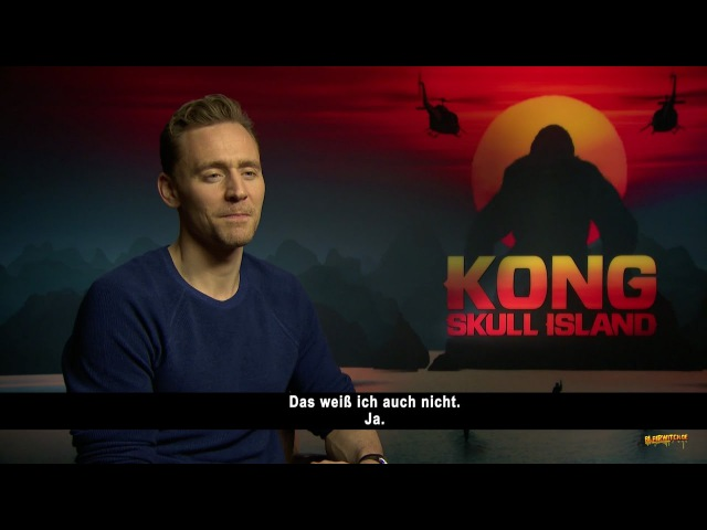 Tom Hiddleston on his backup plan, money dangerous places - Kong: Skull Island Interview