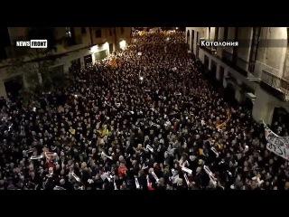 Улицы Каталонии вновь заполнили сторонники независимости
