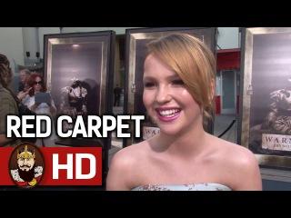 ANNABELLE CREATION (2017) - LA Premiere Red Carpet Interviews   Dominique Digital this week