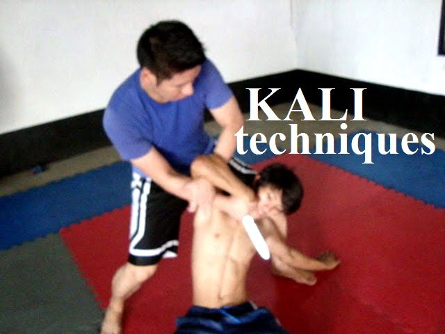 Kali Knife and Empty Hand Techniques Filipino Martial Arts