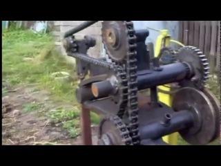 Крутая Идея Самодельный кузнечный станок топ 5 самоделки Homemade forging press