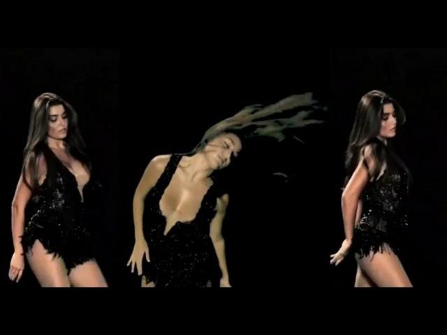 Hande Erçel in yeni reklamındaki büyüleyici dansı