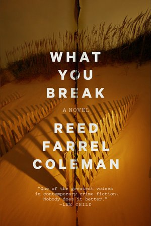 Book cover What You Break - Reed Farrel Coleman