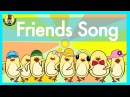 Friends Song Verbs Song for Kids The Singing Walrus