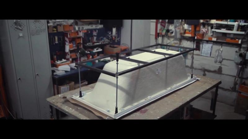 Видео инструкция как установить акриловую ванну ALPEN на каркас магазин 812 910 81 35