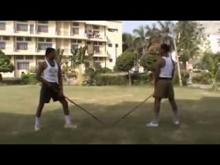 Stick Fighting In Indian Style (Hindu style)
