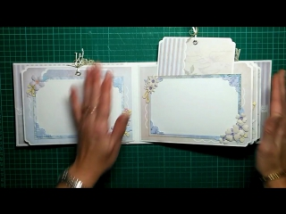 MINI ALBUM CON MALETIN RENOVANDO VOTOS...,  CON KORA PROJECTS - INSPIRACION - LLUNA NOVA SCRAP