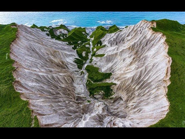 Курильск лавовые поля и чудо природы на острове Итуруп