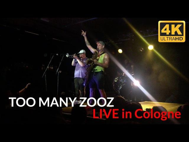 TOO MANY ZOOZ - Warriors SET LIVE in Cologne CBE 07.08.2017 / Köln - 4K - Leo P. Solo / Dance