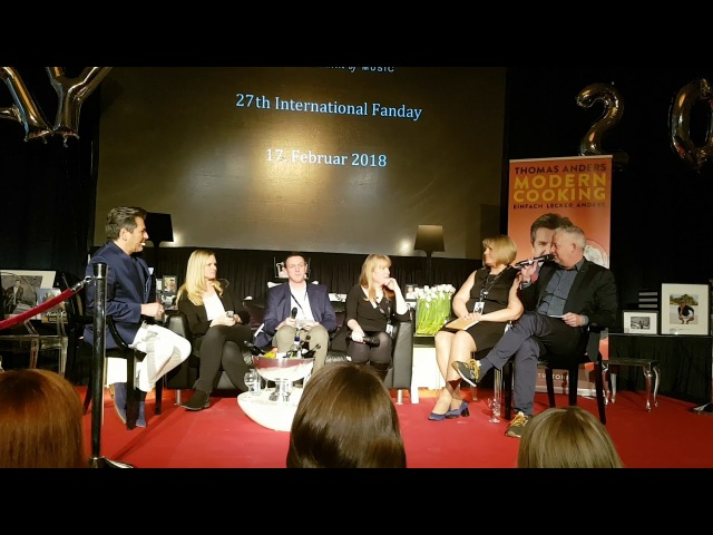 Thomas Anders - Question Answer - 27. International Fanday