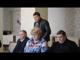 Рустем Ниметуллаев в Советском на встрече, посвящённой выборам