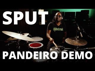 Robert 'Sput' Searight - Meinl Pandeiro Drum Set Groove Demo