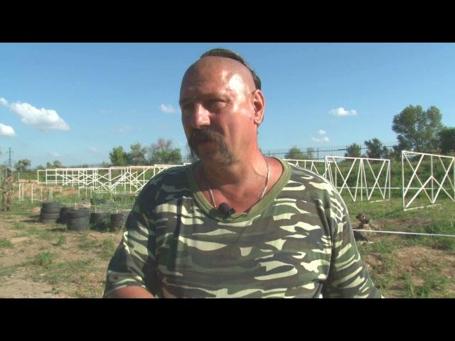 Сергей Нескоромный старший инструктор по казачьей воинской системе Спас