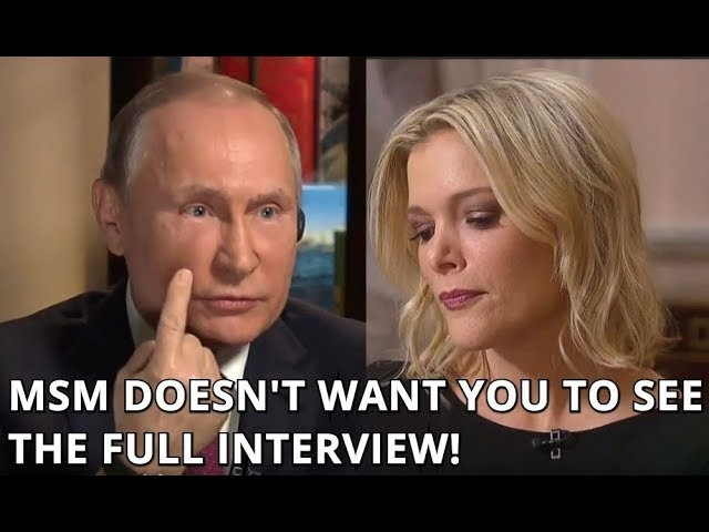 EXCLUSIVE FULL UNEDITED Interview of Putin with NBCs Megyn Kelly