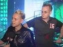 Depeche Mode at MTV Music Award 2001 - Interview Teil 1 (06-09-2001)