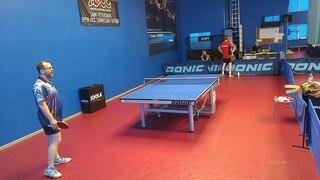 Тихомиров В. (732) - Чирков А. (647) настольный теннис КЧ СПб Лига Высшая С тур