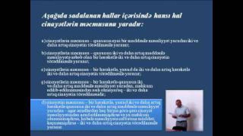 ABA CEELI Vəkilliyə namizədlər üçün hazırlıq kursları Məşğələ 1 1