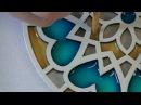Tutorial Gratuito de Mandala con lacas vitrales Fernanda Valiente