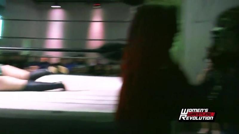 Taeler Hendrix Alexxis vs. Thunder Rosa Holidead - Womens Wrestling Revolution