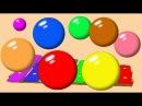 Учим цвета для самых маленьких. Развивающий мультфильм для детей.