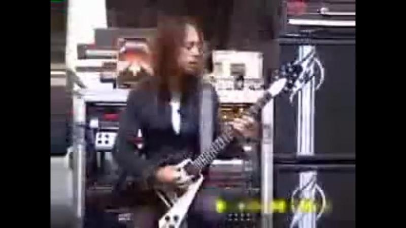 Kirk Hammet shredding Кирк фееричен, чуть менее чем полностью