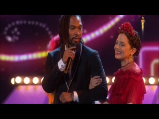 Miguel and Gael Garcia Bernal sings 'Remember Me' From 'Coco' Oscars 2018 Performance
