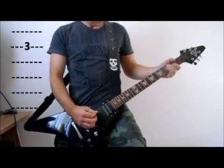 The Misfits - Scream - Play Along Guitar Tutorial