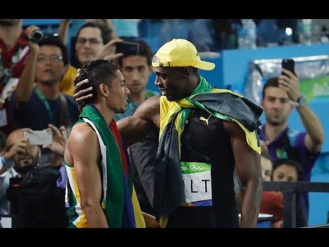 Running Motivation Andre De Grasse Wayde Van Niekerk Usain Bolt
