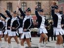 Musztra paradna mażonetki i orkiestra OSP Krasocin Święto Niepodległości 2013 w Kielcach