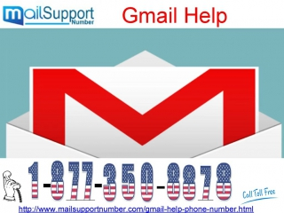 Immediately Call Now @ 1-877-350-8878 for Gmail Help