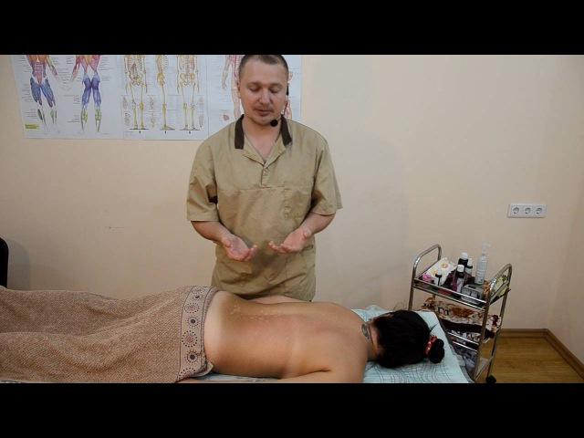 Бесплатный вводный курс обучения классическому массажу спины » Freewka.com - Смотреть онлайн в хорощем качестве