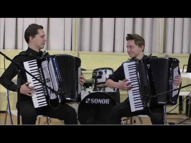 Р Гальяно Танго для Клод Дуэт аккордеонистов П Фарафонов и Н Климантович