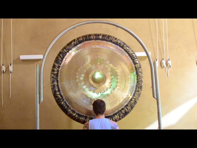 Splendid Water Gong 157 cm by Tone of Life Played by Tom Soltron
