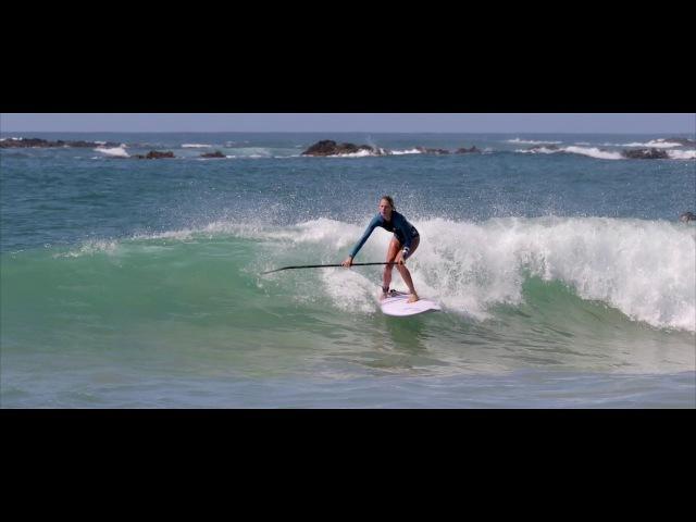 Kaylan Dahl SUP Surfing