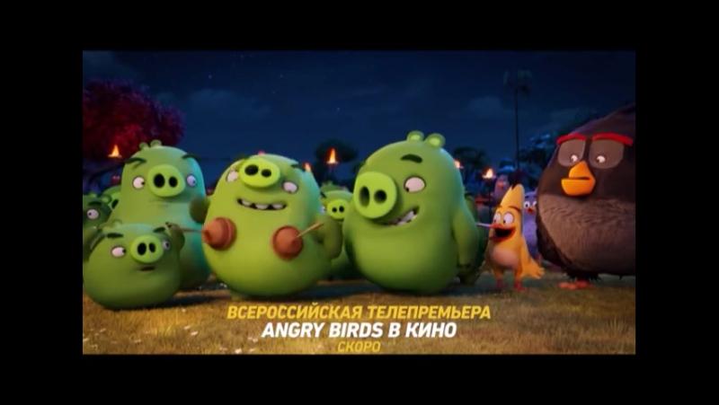 Музыка из рекламы Angry birds в кино СТС Энгри Бердс 2017