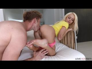 Elsa jean (my mom's new boyfriend part 2)[2018, foot-fetish, footjob, foot, feet, foot worship 1080p]