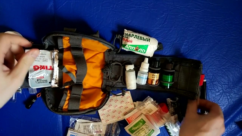 Походная Аптечка Vanquest FatPack и травм комплект - IFAK Vanquest FatPack Trauma Kit (1)
