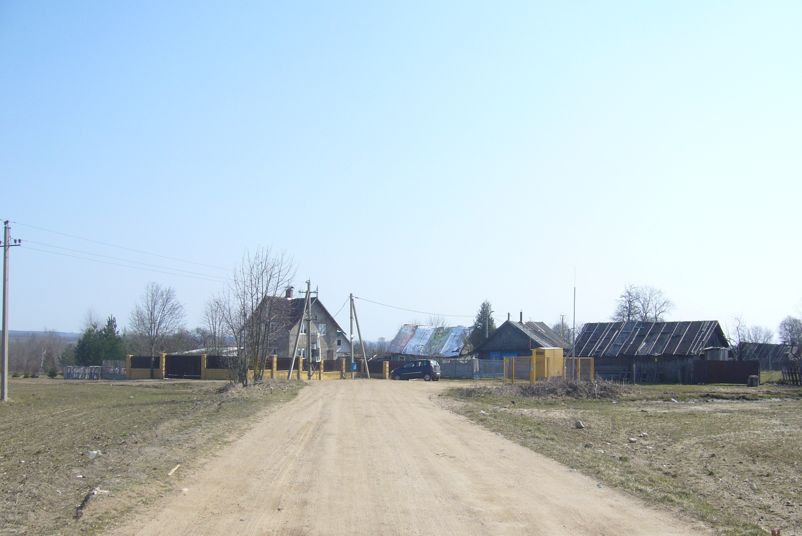 Как выглядят обычные белорусские деревни Беларусь,деревня