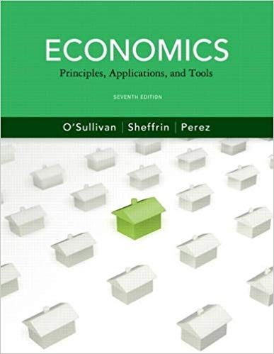 Economics Principles, Applications and Tools