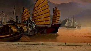 Корто Мальтез: Погоня за золотым поездом [Corto Maltese, la cour secrete des arcanes] 2002