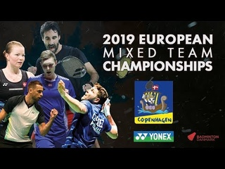 England (Chloe Birch) vs Russia (Evgeniya Kosetskaya) - Day 1 - European Mixed Team C'ships 2019