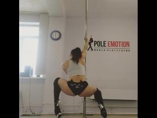 Мария Платицына Pole Emotion Studio exotic pole